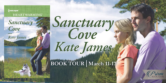 Sanctuary Cove by Kate James Prism Book Tour