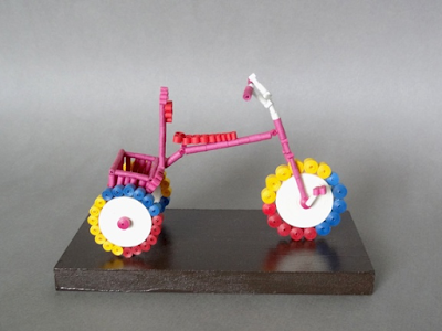 quilling cycle model for kids 2016 - quillingpaperdesigns