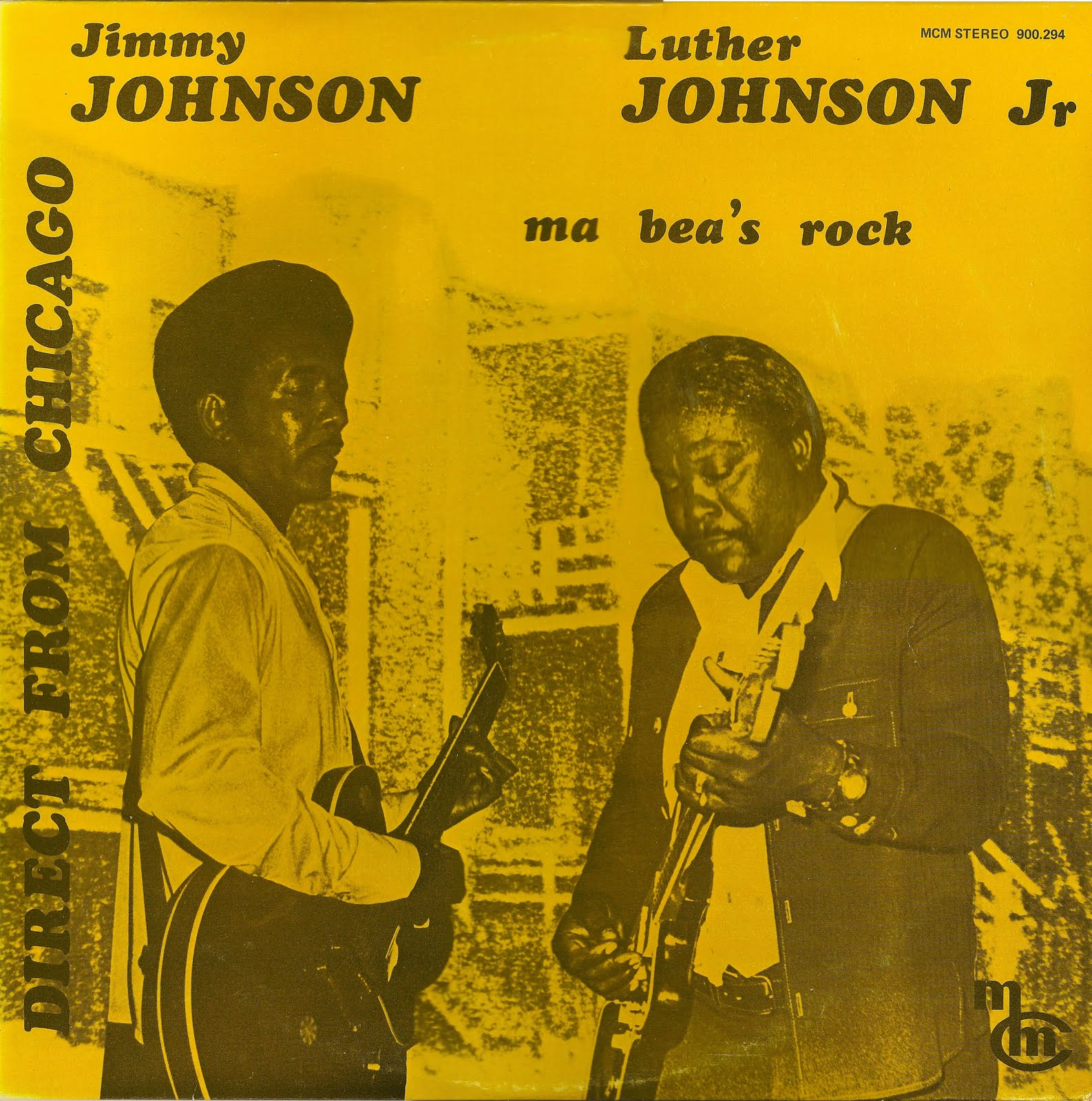 Castelarblues Cd Jimmy Johnson Amp Luther Johnson Jr