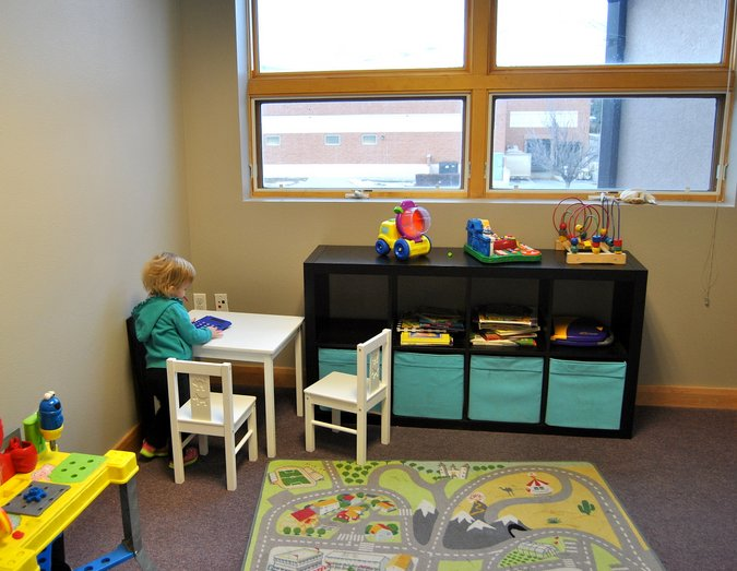 chiropractic office kids room