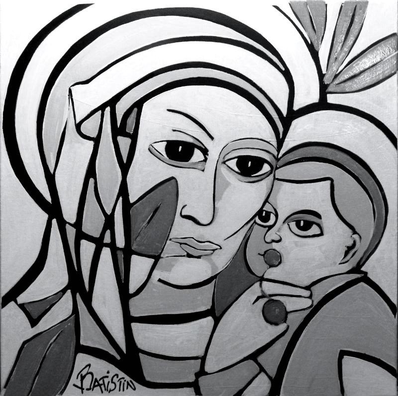 La Vierge à la Cerise Corse par Batistin