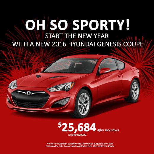 2016 Hyundai Genesis Coupe, Savannah GA, Savannah Hyundai