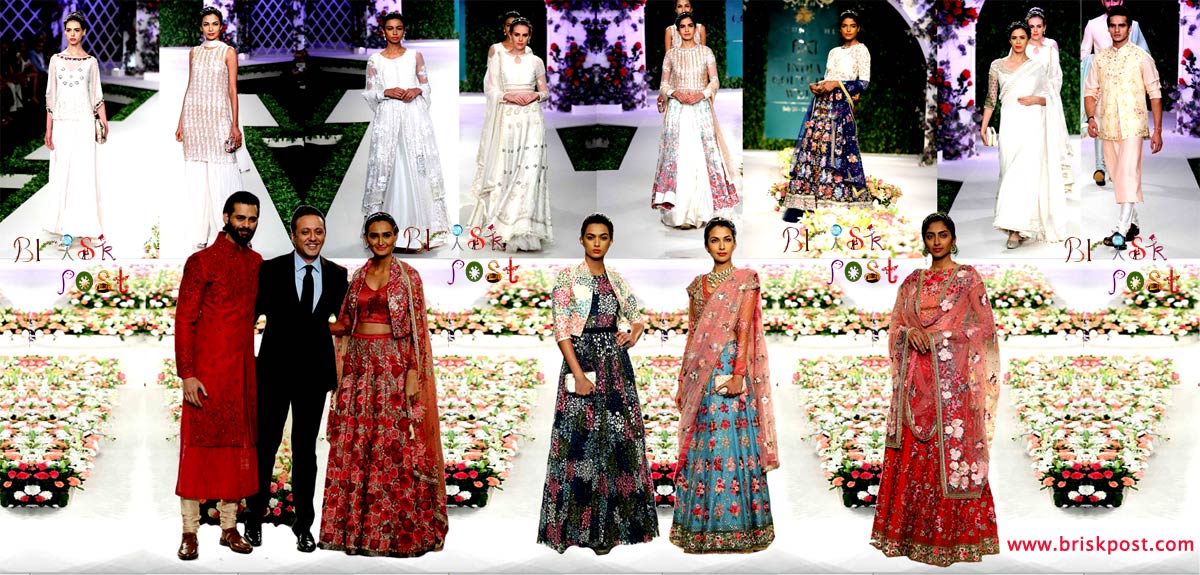 Beautiful Vintage Garden by Varun Bahl for runway of India Couture Week 2016