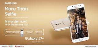 Galaxy J7 Plus Berhadiah Samsung Bottle Speaker dan Cashback