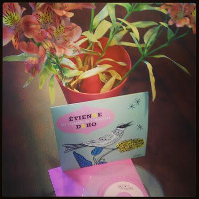"""etienne daho Edition Vinyle 45 tours du 1er single """"les chansons de l'innocence"""""""
