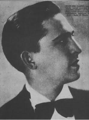 Hugo del Carril en Revista Sintonia