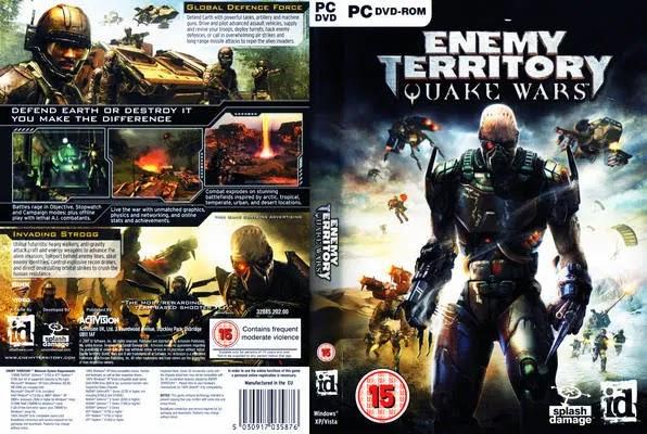 ENEMY TERRITORY QUAKE WARS [PC]