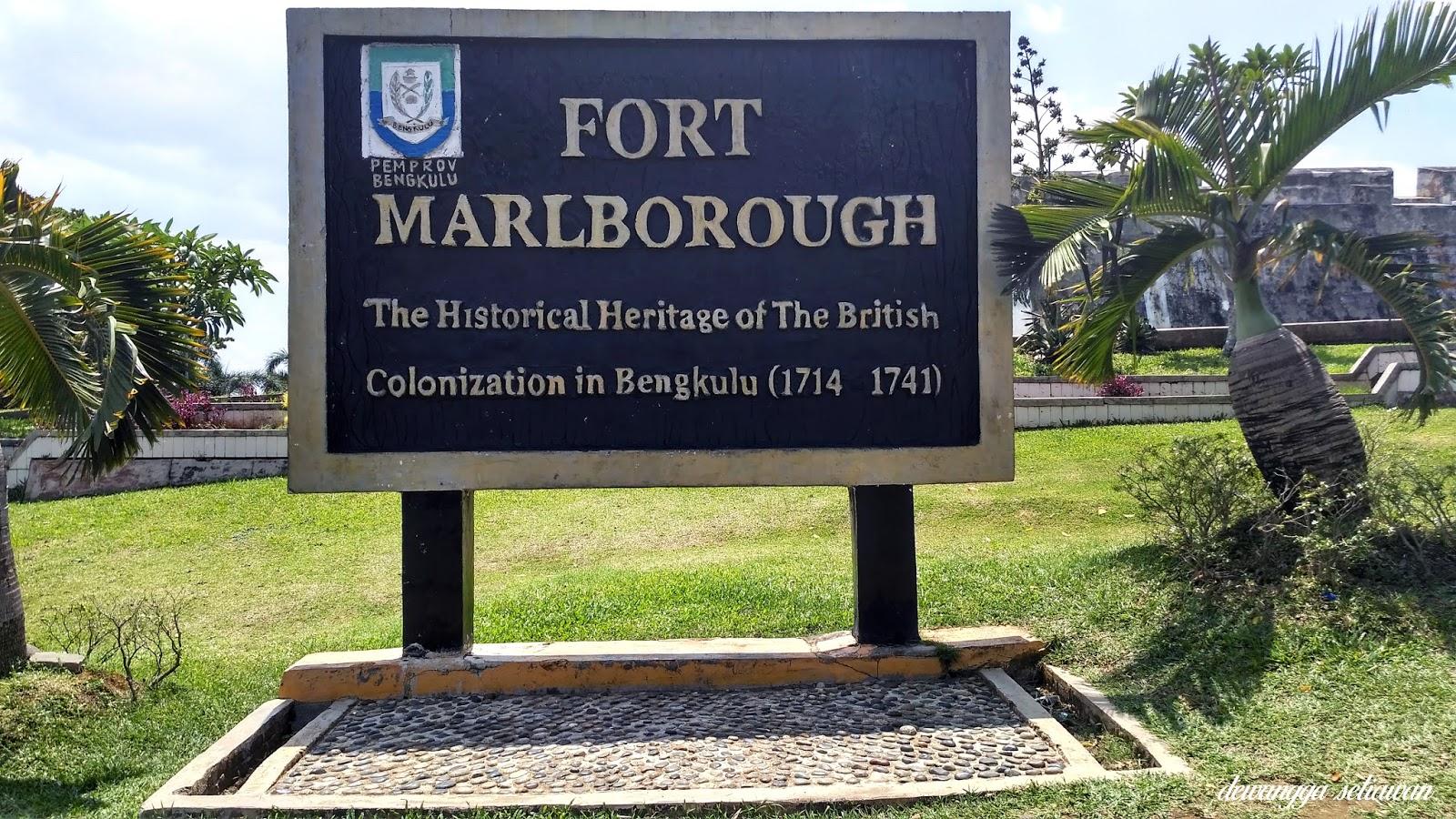 Wisata Sejarah Benteng Fort Marlborough Bengkulu