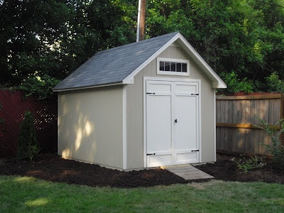 Life with 4 boys 5 diy projects to help beautify your for Two room garden shed