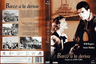 Carátula dvd: Barco a la deriva (1935) (Steamboat Round the Bend)