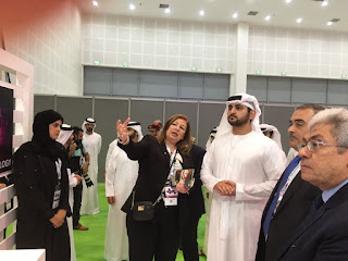 H.H. Sheikh Maktoum bin Mohammed visits ITIDA-sponsored Egyptian pavilion at GITEX Technology Week