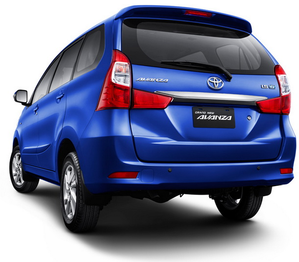 Bagian Belakang Toyota Grand New Avanza