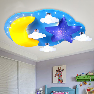 3D wallpaper designs for kids room ceilings
