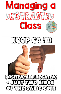 Sometimes we teach classes of students who are nice but distracted. They're not intentionally misbehaving or being rude, but they're jittery and chatty. One way I've decided to combat this issue is to implement a class contract. Another ways that's effective is to reward the positive behavior when it's displayed as an encouragement to get back on that path. What do you do with a distracted class?