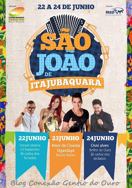 Programação São João de Itajubaquara 2016