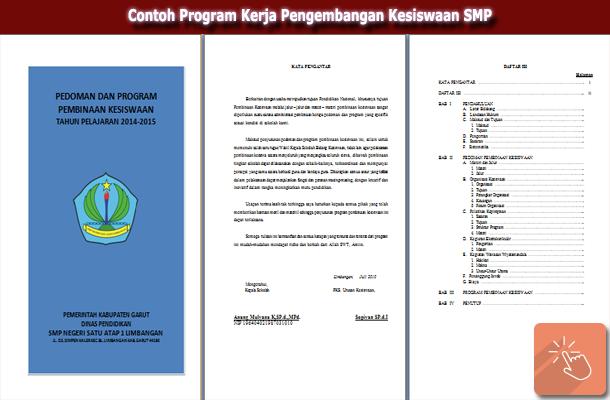 Contoh Program Kerja Pengembangan Kesiswaan SMP