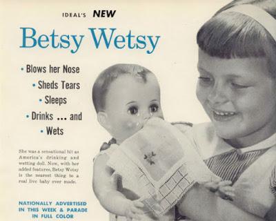 Ideal's New Betsy Wetsy