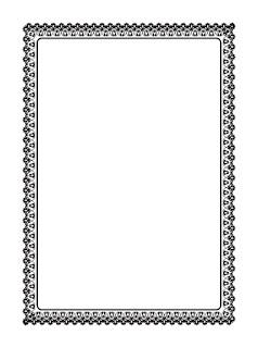 Download Sisipan Kosong Buku Yasin Hitam Putih