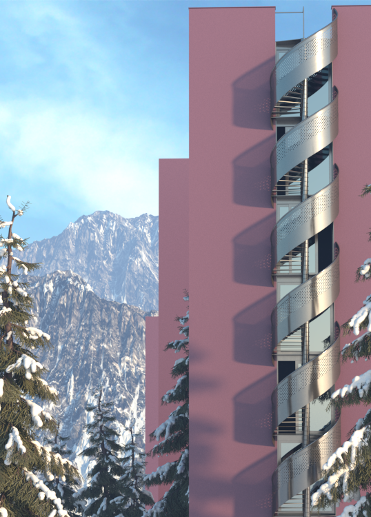 Environmental Lighting & Aerial Perspective In Vray For