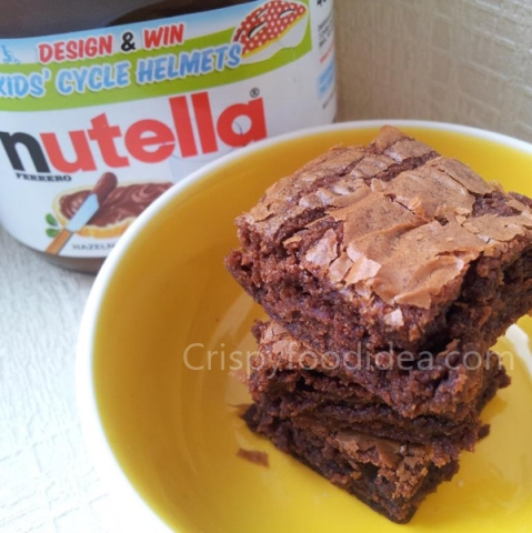 nutellablondies