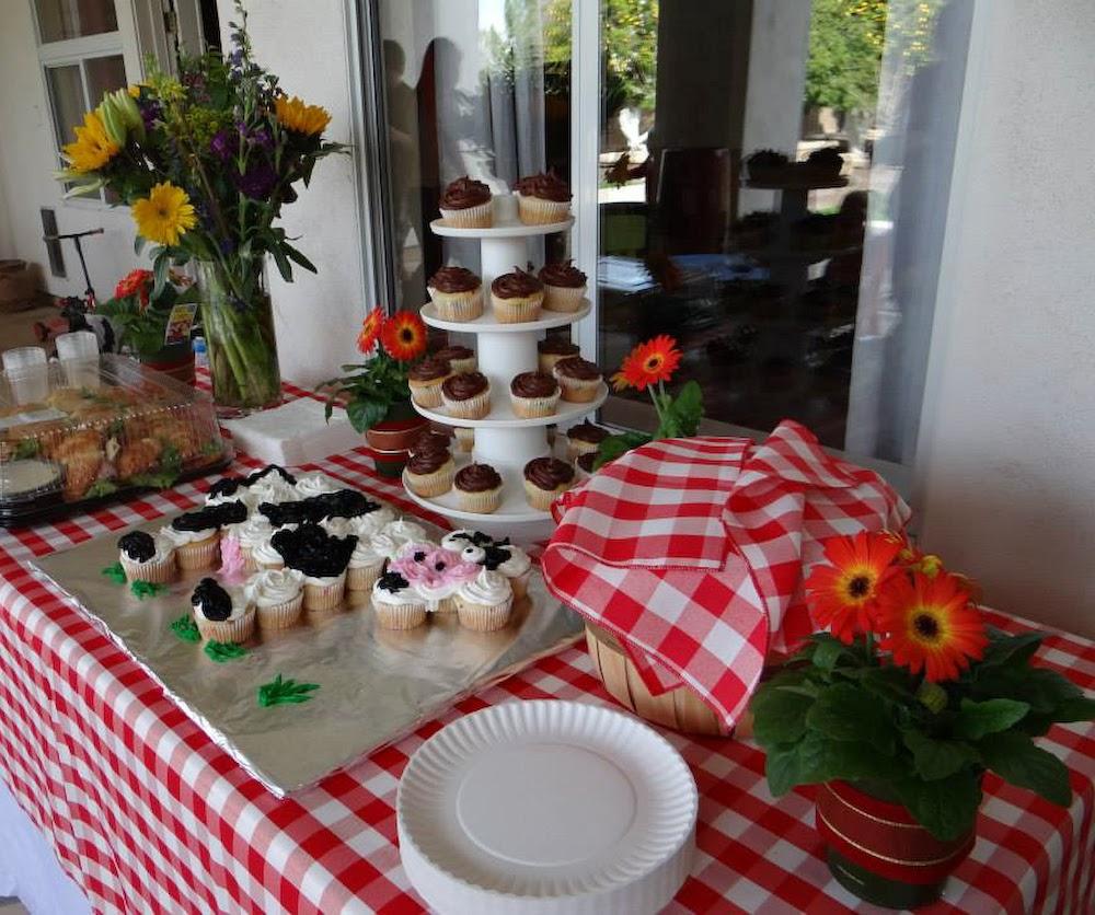 The Bubbly Hostess: Yee-Haw! A Farm Themed Birthday Party
