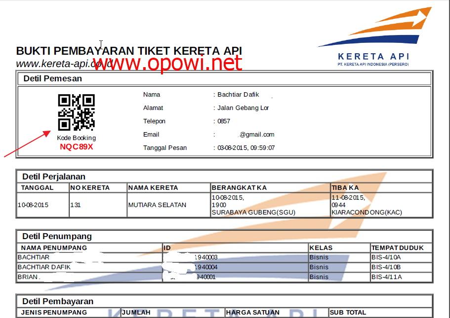 Mudahnya mendapatkan tiket kereta api via web KAI dan CTM