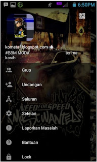 BBM Mod Tema Need For Speed V3.0.1.25 Apk