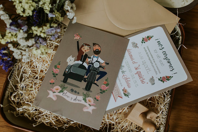 invitaciones boda la suite 64 - blog mi boda