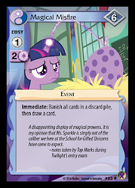 My Little Pony Magical Misfire Marks in Time CCG Card