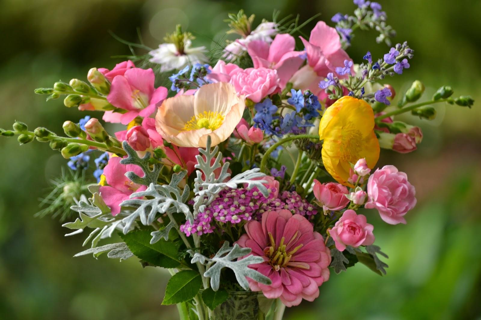 Цветы июня в букете название, цветы