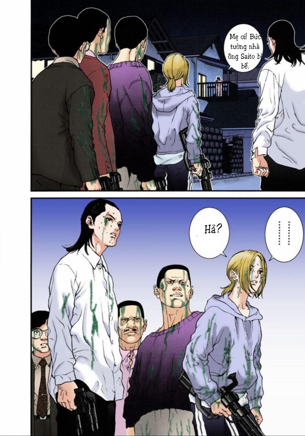 Gantz Chap 09: Thí nghiệm EichMann trang 10