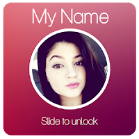 my name lock screen apk app