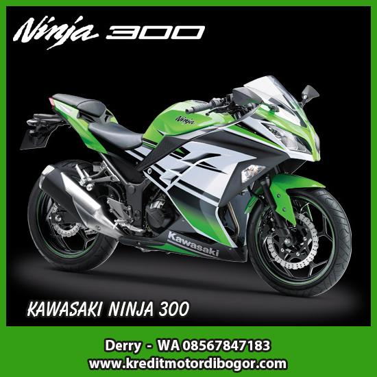 Kredit Motor Kawasaki Ninja 300 di Bogor