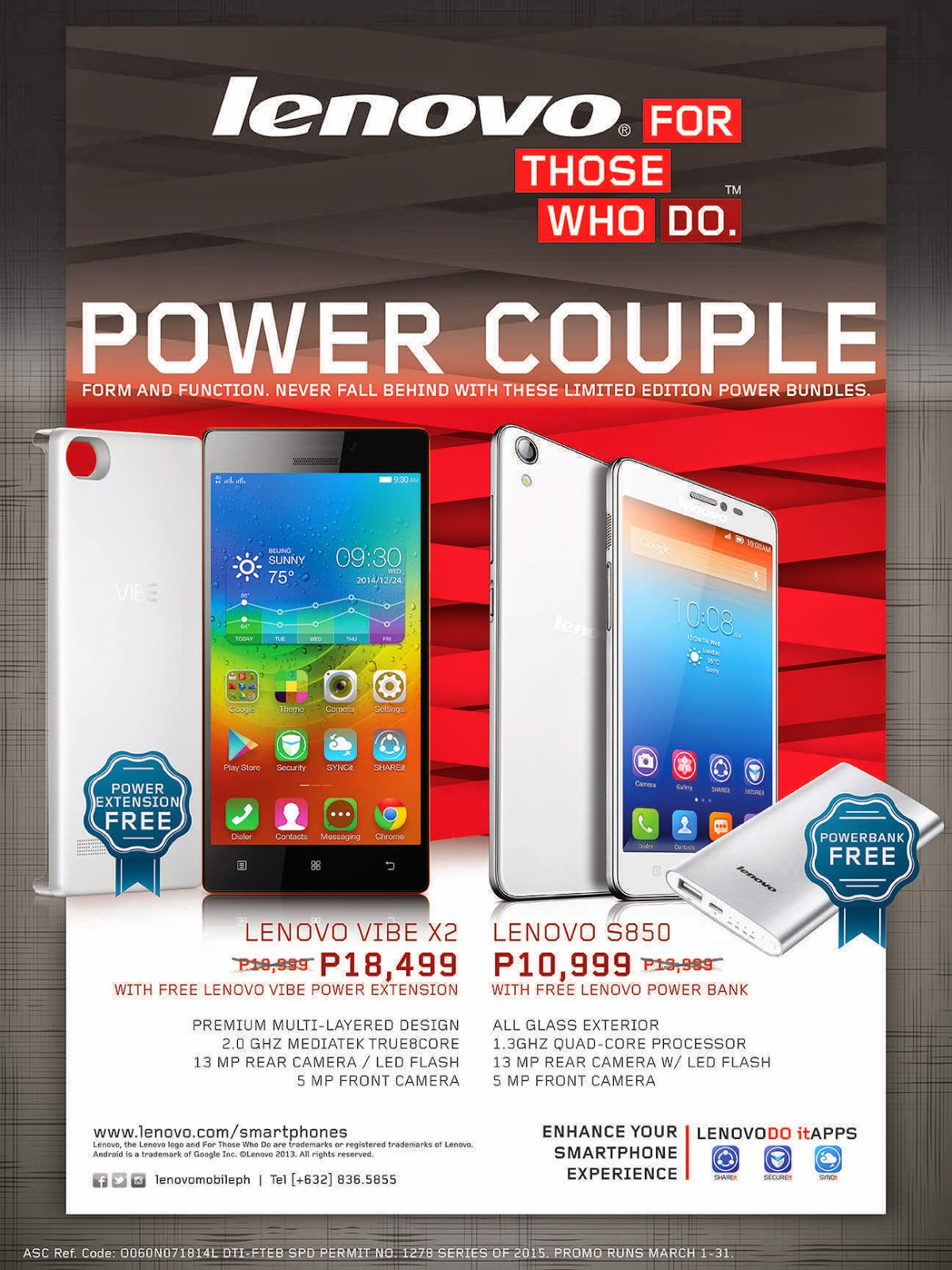 The Lenovo Power Bundle Promo