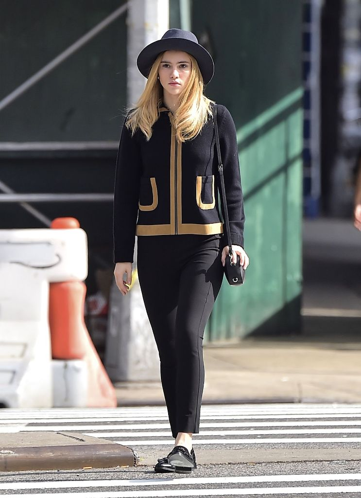 Suki Waterhouse street style out in New York