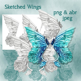 Sketched Wings