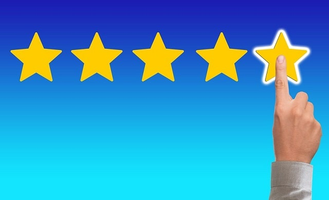 increase customer positive reviews business ratings online