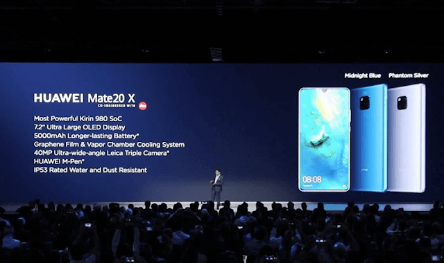 Huawei announce Mate 20 X gaming smartphone with M-Pen
