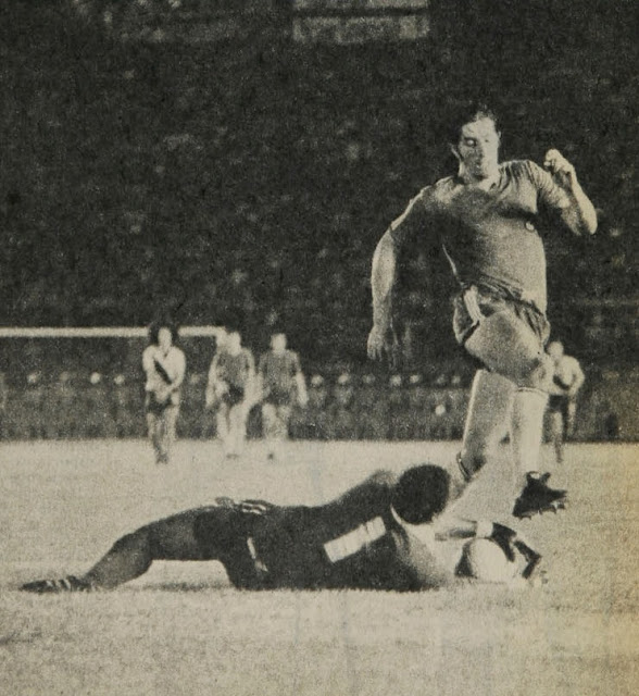 Ecuador y Chile en Clasificatorias a Argentina 1978, 27 de febrero de 1977
