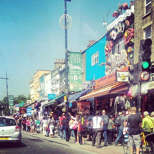A busy Sunday in Camden