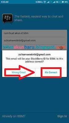 Buat ID BBM Baru | Cara Registrasi BBM Android Samsung