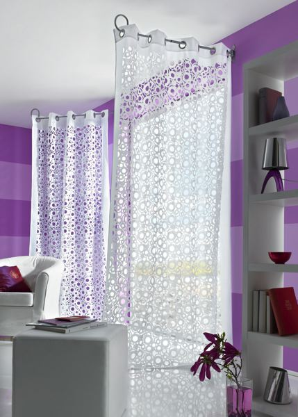 lilou f e de la d co rideau. Black Bedroom Furniture Sets. Home Design Ideas