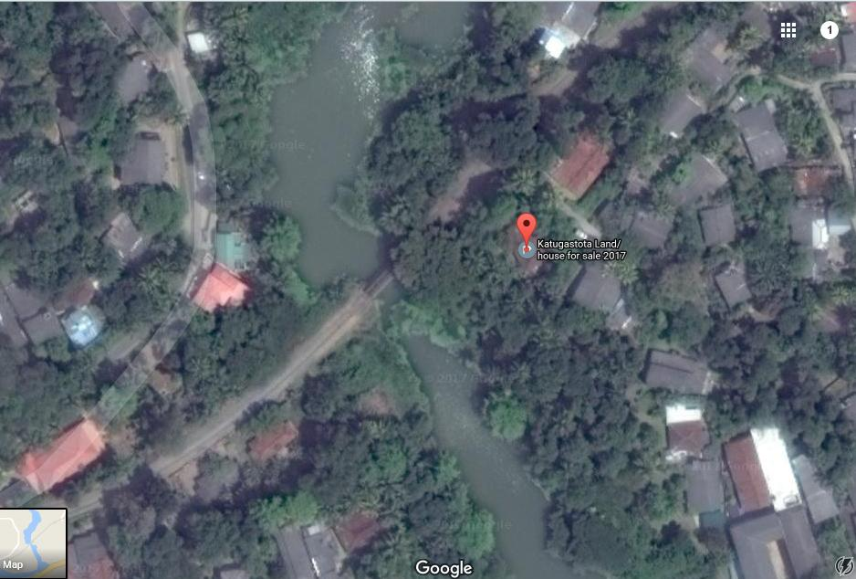 Satellite View - Kandy Land for sale