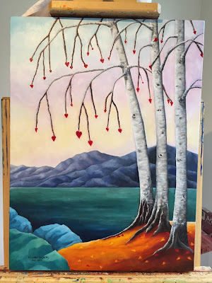 Loving Birch Trees - Copyright C. Ong-Dijcks