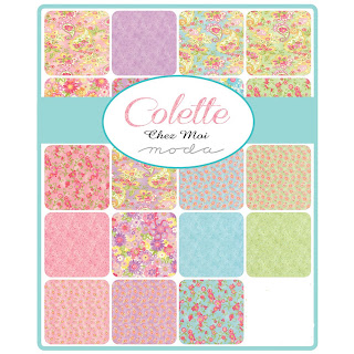 Moda Colette Fabric by Chez Moi for Moda Fabrics