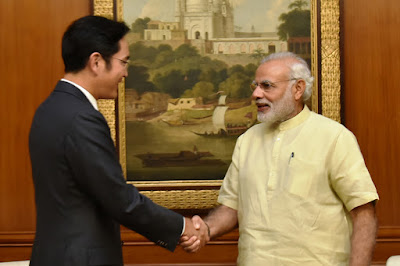 Samsung Vice Chairman Jay Y Lee Met PM Narendra Modi and Insists Their Commitment To India