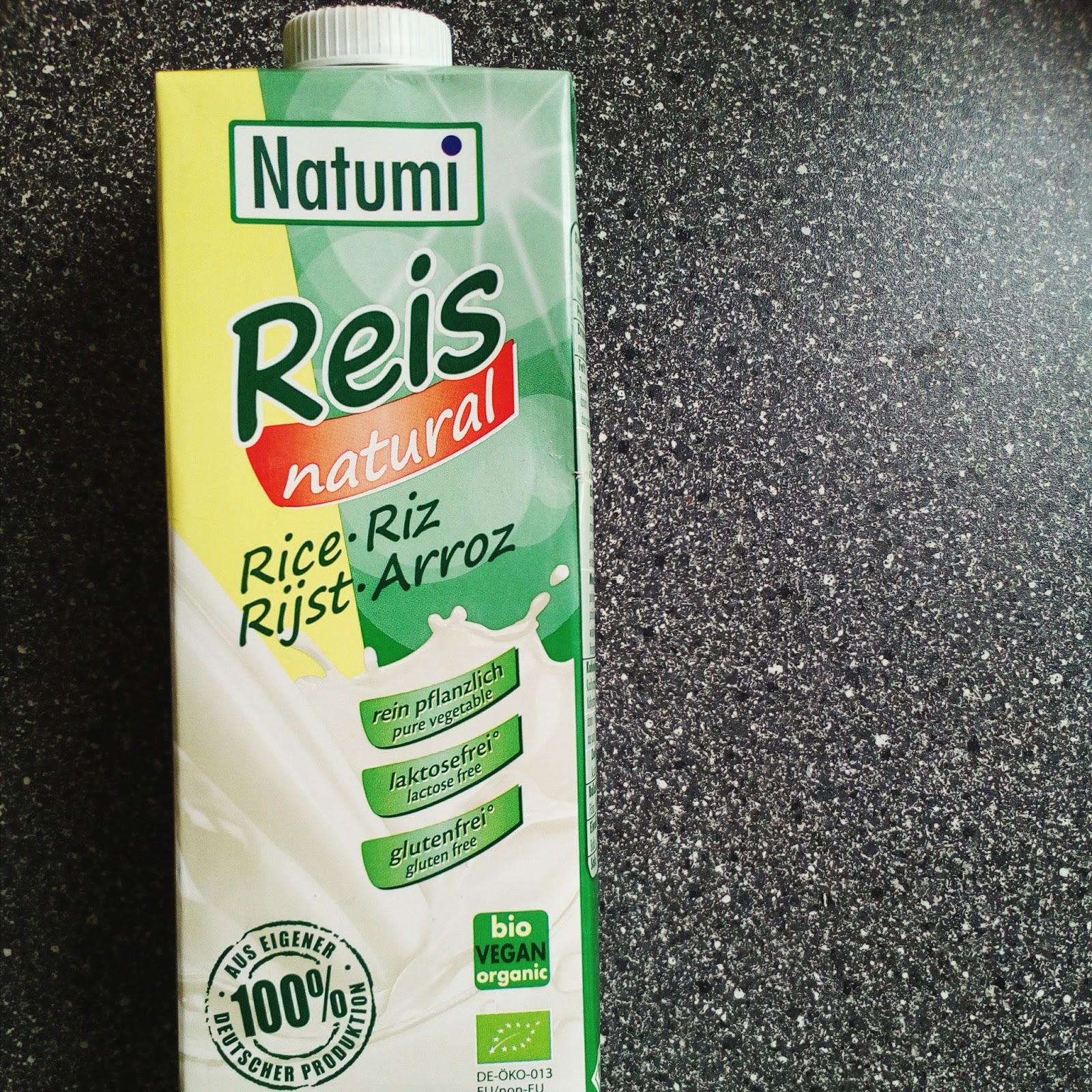 Natumi rýžové mléko
