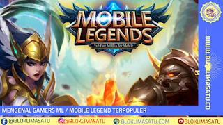 Yuk Kenalan Dengan Gamers ML/ Mobile Legend Terpopuler Abad Ini