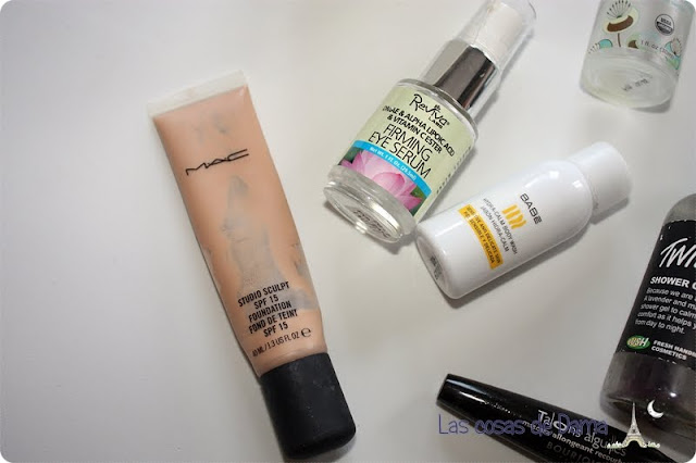 Productos terminados mac reviba labs bourjois