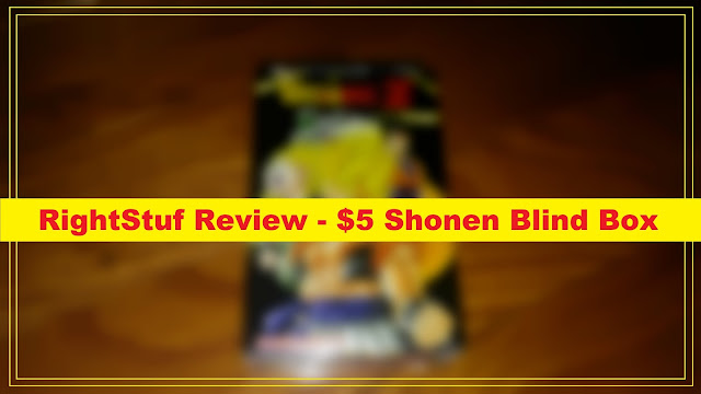RightStuf Review - $5 Shonen Blind Box